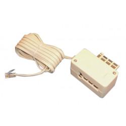 Cordon telefonico 3m c72m hacia rj11 telefono cordones enchufes telefonicas cordones