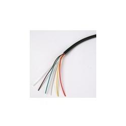 Cable electrique h05vv-f 5g0,50 cordon 5 x 0.50 rouleau de 10m fil multiconducteur instrumentation
