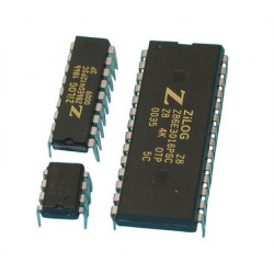 Integrated electronic circuit for control panel c7z and keypad (3 programed chips ) alarm accessory