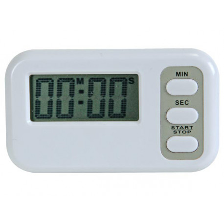 Countdown timer (99min. 59sec.) with alarm