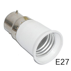 B22 to e27 light for led light lamp bulbs base holder adapter converter 12v 24v 48v 220v lampholder conversion