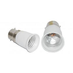 B22 a e27 adattatore convertitore portalampada lampada led 12v 24v 48v 220v presa di adattamento