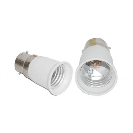 B22 to e27 light for led light lamp bulbs base holder adapter converter 12v 24v 48v 220v lampholder conversion