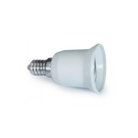 Adaptateur Convertisseur E14 A E27 Douille Lampe Ampoule Led